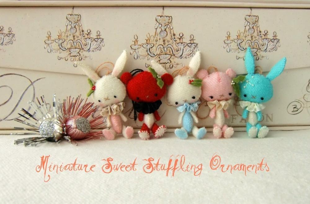 Mini Sweet Stufflings pdf Pattern
