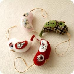 Love Birds Ornament Pdf Pattern