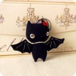 Halloween Bat Ornament PDF Pattern