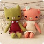 Pocket Pals - Piggy and Kit..