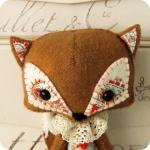 Woodland Fox PDF Pattern