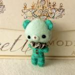 Bear Brooch PDF Pattern