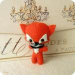Fox Brooch pdf Pattern